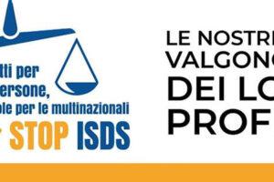 Diritti per le persone, regole per le multinazionali – STOP all'ISDS