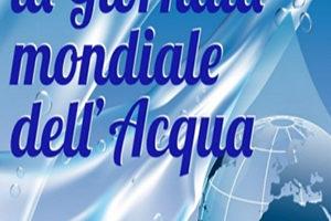 La giornata mondiale dell'acqua.